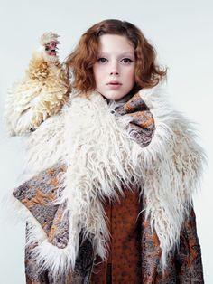 vogue-is-viral:  Natalie Westling by Willy Vanderperre for Vogue...