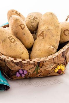 ALFABETO DELLA PATATA #patata #alfabeto