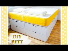 Ikea Hack - Plattform Bett bauen - YouTube