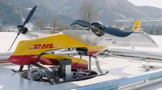 DHL successfully completes testing of the Parcelcopter, an automatic drone delivery system.