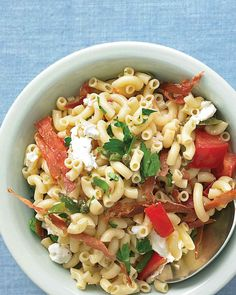 Try this delicious pasta salad, a favorite with Emeril Lagasse and his family.