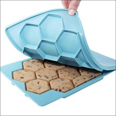 The Smart Cookie Freezer Container  http://www.shapeandstore.com/products/the-smart-cookie