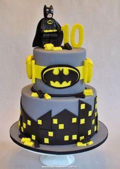 20 Bolos do Batman em Pasta Americana