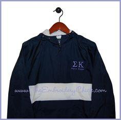 Sigma Kappa Windbreaker