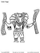Stacy Sews and Schools - Aztecs, Incas and Mayans Study