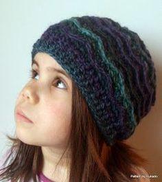 db273943 Ripply crochet hat Crochet For Kids, Free Crochet, Crochet Baby, Crotchet,  Hat