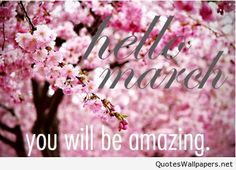 Hello March, please be amazing picture 2016
