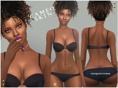 Defined skin overlay, looks great on all skin-tones.  Found in TSR Category 'Sims 4 Skintones'