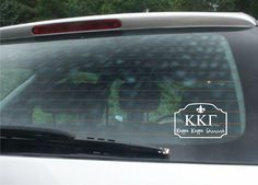 Kappa Kappa Gamma Car Decal wall saying vinyl lettering art decal quote sticker home decal * Click image to review more details.