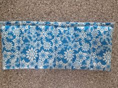 Lavender scented Eco-Friendly Microwave Rice Heating and Cooling Pad...Snowflake on Etsy, $18.00  Have had many complements on how wonderful these little pads work.   www.FromMyMothersHand.etsy.com