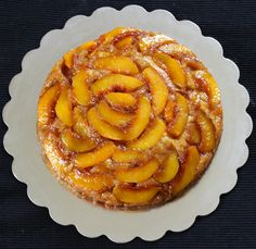 Peach Upside Down Cake is delicious, super moist cake with full of flavor. The caramel peach topping on the cake is so good that you can't stop eating it