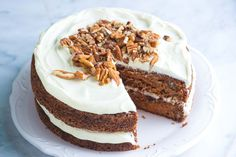 How To Make Incredibly Moist Carrot Cake---Minus the nuts and raisins for Chuck.