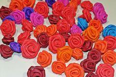 DIY Mini Foam Roses - Very Easy !