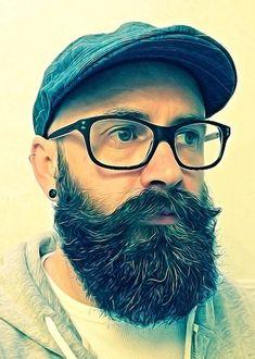 Bald, Beard, Glasses
