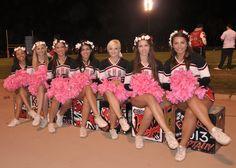 EHS Varsity Cheer Seniors 2012
