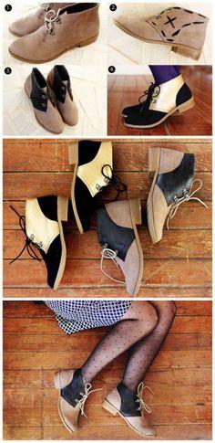 DIY remodel shoes
