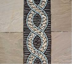 Image only, link not working Ceramic Mosaic Tile, Pebble Mosaic, Stone Mosaic, Pebble Art, Mosaic Art, Mosaic Glass, Mosaic Flower Pots, Mosaic Garden, Sicis Mosaic