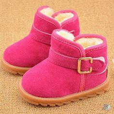 Winter Warm Hot Pink Boots – Sleepy Cubs