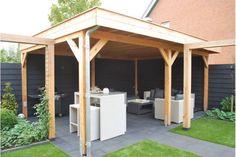 Overkapping 500 x 300 cm Pergola, Shed, Outdoor Structures, Teaching Art, Home, Outdoors, Garden, Ideas, Garten
