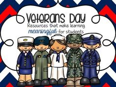 Veterans Day- Informational Posters, Adorable Graph & More!