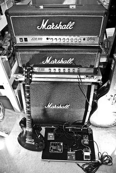 RV Idea - Stencil the Marshall logo on black textured shade screens instead of using blinds or curtains.    Gibson+marshall=awesome power