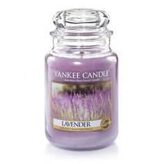 Yankee Candle Company Large Jar Candles, Lavender.