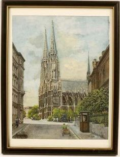 More information about Hitler's life in Vienna and influences for antisemitism that were abundant there. Also some small information about the Jews that lived in Vienna. The pinned picture is painting by Hitler of a church in Vienna.