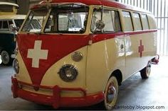 Vintage Swiss VW Bus.