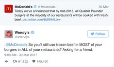 33 Times Wendy's Has Made Us LOL On Twitter