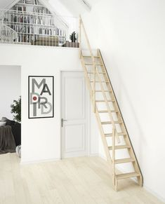 Dolle Madrid Wooden Space Saving Staircase Kit | Loft Centre