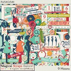 Layout using {9 Moons} Digital Scrapbook Kit by Magical Scraps Galore http://store.gingerscraps.net/9-Moons.html http://www.scraps-n-pieces.com/store/index.php?main_page=product_info&cPath=66_152&products_id=8000#.VMR5wP54rgM