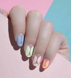 Pastel nail polish are the hottest colors for the season. Buy the best pastel nail polish here. Pastel Nail Art, Pastel Nail Polish, Gel Nail Art, Nail Polish Colors, Art Nails, Colorful Nail Designs, Cute Nail Designs, French Nails, Toenail Fungus Cure