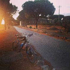 #bike #mountainbike #sunset #cycle