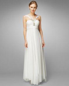 Women's IvoryElspeth Embellished Wedding Dress