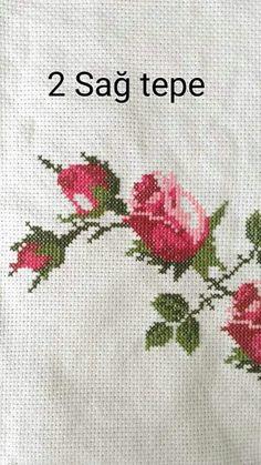 Discover thousands of images about İsim: Görüntüleme: 16206 Büyüklük: KB (Kilobyte) Cross Stitch Rose, Cross Stitch Flowers, Cross Stitch Charts, Cross Stitch Designs, Cross Stitch Patterns, Cross Stitching, Cross Stitch Embroidery, Crochet Crocodile Stitch, Palestinian Embroidery
