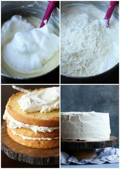 The Very Best Coconut Cake Recipe EVER! Fluffy, soft, with the perfect amount of coconut flavor, topped with creamy coconut buttercream frosting! Best Coconut Cake Recipe Ever, Best Cake Recipes, Coconut Recipes, Sweet Recipes, Dessert Recipes, Desserts, Coconut Pineapple Cake, Coconut Cakes, Wooden Cake Stands