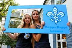 Kappa Kappa Gamma at Purdue University #KappaKappaGamma #KKG #Kappa #BidDay #PhotoOp #FleurDeLis #sorority #Purdue