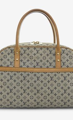 Louis Vuitton Grey And Navy Tote
