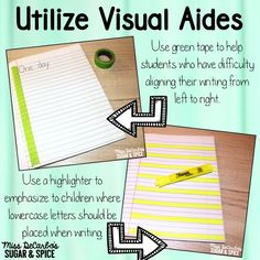 Lots of handwriting tips and tricks for little writers! Check out this blog post!