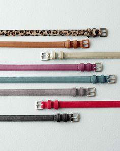 Maria Skinny Belt