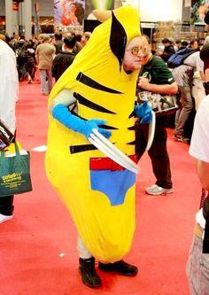 Esto no parece Wolverine, sino un cambur con interior...
