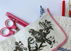 Papeles Pequeños - DIY - Tutorial paso a paso para convertir bolsas plásticas en cartucheras!