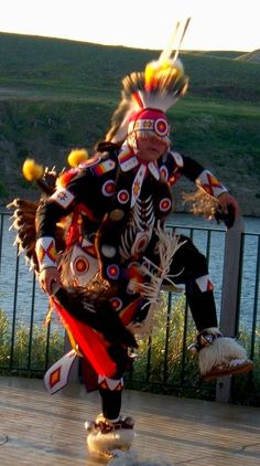 Chicken Dancer-used to heal a family member who is sick. Birds fly high near to the creator.