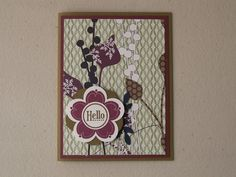 stampin up pocketful of posies - Google Search