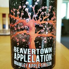 Sour bite with a sweet apple sauce aftertaste. - Drinking a Applelation by Beavertown