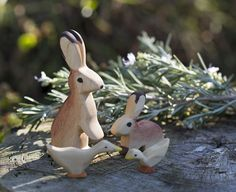 Instructions on how to make wooden animals
