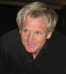 Gordon Ramsey (Sat between Nero Bellum and Evel Knievel)