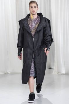 Anca Zaharia Duster Coat, Collection, Jackets, Fashion, Hip Bones, Down Jackets, Moda, Fashion Styles, Fashion Illustrations