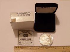 .999 Fine Silver New England Patriots Super Bowl XXXVIII Limited Edition Coin 38