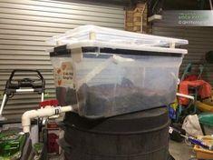6 Gallon Black Soldier Fly Bio Composter Diy Improved Design